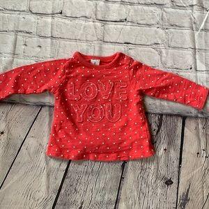 ❤️ 3/$25 Love You Sweatshirt